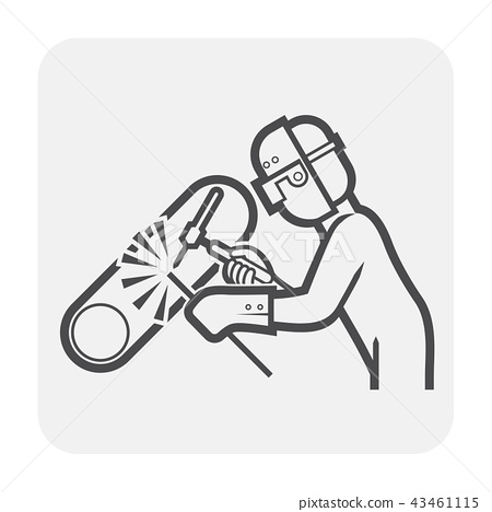 welder welding icon 43461115