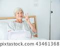 woman, senior, patient 43461368