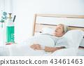 hospital, bed, senior 43461463