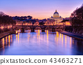 St. Peter's Basilica in Vatican city state 43463271