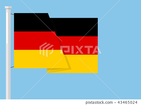 Germany flag with copyspace 43465024