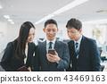 商务人士 商人 手机 43469163