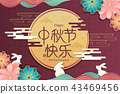 happy Mid Autumn Festival 43469456