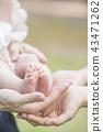 ทารก,เด็ก,เท้า 43471262