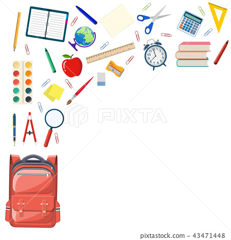 Back to school background 43471448