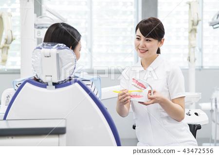 牙医牙医牙科病人女性医院医疗牙医腔治疗 43472556