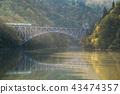 Fukushima First Bridge Tadami River Japan 43474357