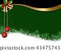 聖誕節背景 43475743