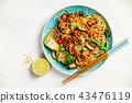 Asian Tofu Soba Noodle Bowl 43476119