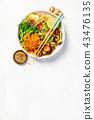 Asian Tofu Soba Noodle Bowl 43476135