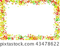 autumn maple leaf 43478622