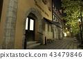밤의 중세 건축물 바람의 도시 43479846
