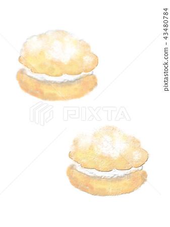 Shoulder illustration 43480784
