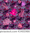 Camo seamless pattern36 43483966