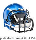 helmet, American, football 43484356