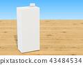 package, white, milk 43484534