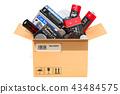 batteries, cardboard, battery 43484575