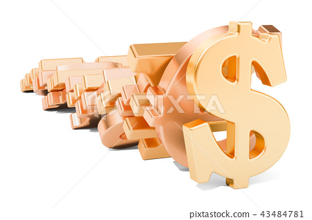 Domino effect from symbol currencies 43484781