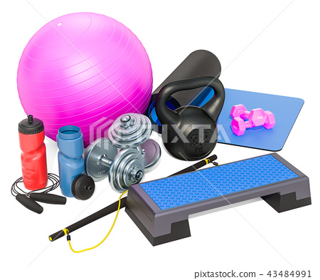 Fitness, aerobic and other sports equipments 43484991