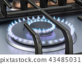 煤气炉 三维 立体 43485031