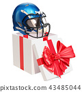 helmet, American, football 43485044