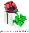 helmet, gift, present 43485064