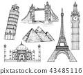 landmarks vector set 43485116