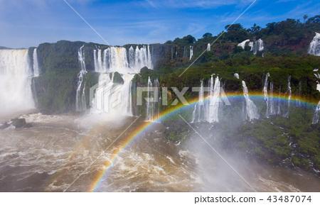 Iguazu Falls in Brazil 43487074