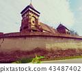 Fortified church in Valea Viilor, Romania 43487402