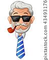 old, man, beard 43493176
