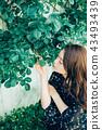 花生活女性肖像 43493439