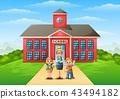 student female teacher 43494182