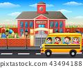 student schoolboy schoolgirl 43494188