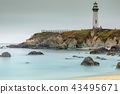 Pigeon Point Lighthouse Viewed from the South 43495671
