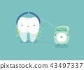 ไหมขัดฟัน,ทันตกรรม,ฟัน 43497337