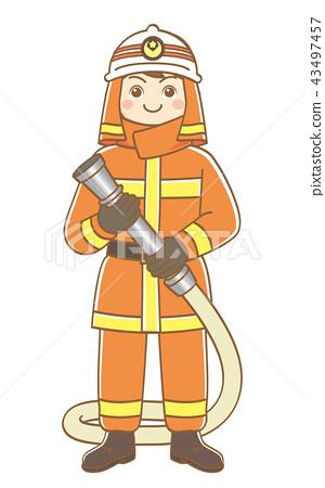 男消防員 43497457