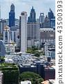 빌딩, 도시, 방콕, 사무실, 아파트, 콘도, 건물, 고층 빌딩, 풍경, 비즈니스, 도시, 도쿄, 43500393