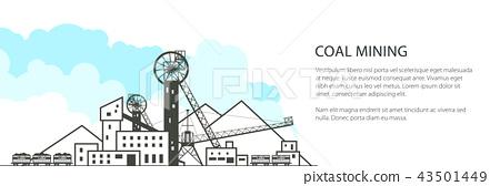 Coal Industry Banner 43501449