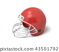 helmet, football, 3d 43501792