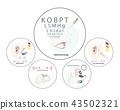 Set of Medical Equipments for Health Treatments 43502321