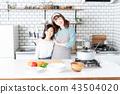 母女 父母和小孩 親子 43504020