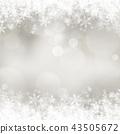 背景 - 雪 - 圣诞节 - 银 - 金葱 43505672