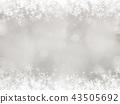 背景 - 雪 - 圣诞节 - 银 - 金葱 43505692