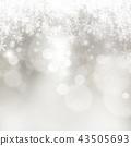 背景 - 雪 - 圣诞节 - 银 - 金葱 43505693