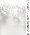 背景 - 雪 - 圣诞节 - 银 - 金葱 43505694