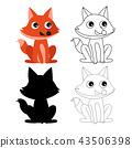 狐狸 儿童 孩子 43506398
