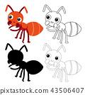 蚂蚁 儿童 孩子 43506407