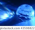 Beautiful diamond background image. 43506822
