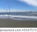노란 해수욕장 표시 부표 43507573