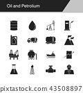 Oil and Petrolium icons. 43508897